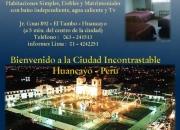 Semana santa en huancayo - hostal* tambo wasi
