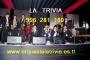 grupos musicales orquestas LA TRIVIA Orquesta LIMA PERU Telf. 01-4505319