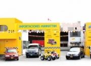 Autos y camiones en importaciones manhattan