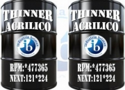 VENTA DE THINNER ACRILICO / THINNER ESPECIAL RPM:*477365