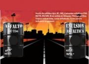 venta de asfalto rc-250 - ASFALTO PEN 85/100 - 60/70 -  BREA DURA X BLOQUE DE 15KLS 1KL