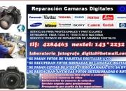 SERVICIO TECNICO Y REPARACION DE CAMARAS DIGITALES