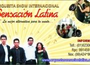 Fiestas y orquestas - Sensación Latina - Orquesta matrimonios eventos lima