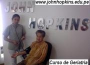 Estudia geriatría en john hopkins