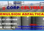 Ventas de emulsion asfaltica rapida