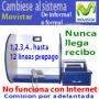 Problemas con su Locutorio Internet, Cámbiese a MOVISTAR-Locutorios