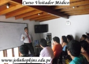 VISITADOR MÉDICO PROFESIONAL EN JOHN HOPKINS College
