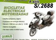 Bicicletas eléctricas motorizadas bem!