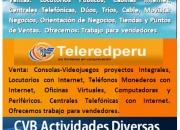 Vendemos productos Telecomunicaciones ? Ofrecemos Actividades Diversas ? Recursos más $3000