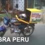 cajas para reparto en moto