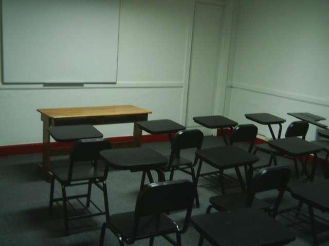 Servicio de alquiler de aulas