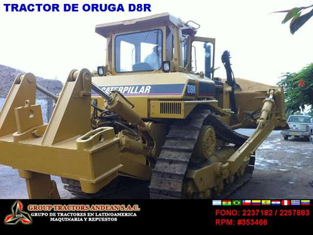 Venta de un tractor caterpillar d8r