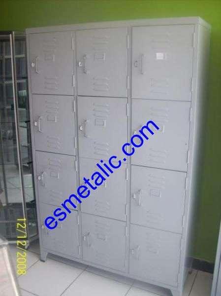 Locker metalico de 1 a 25 puertas ,casillero