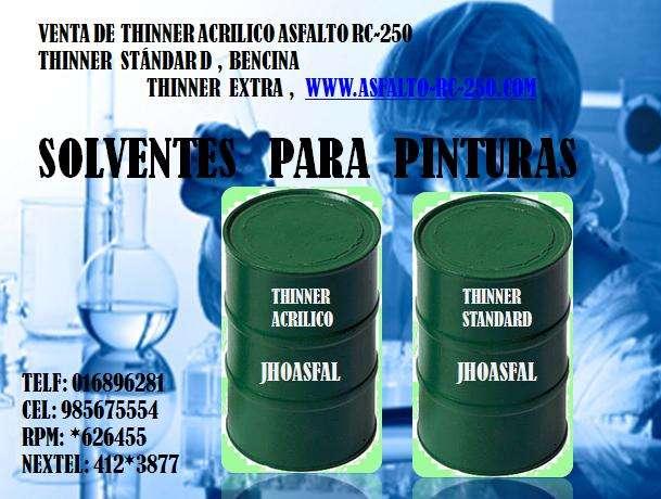 Empresa productora de asfalto rc-250