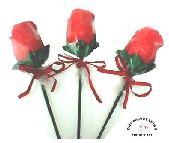 Rosas de chocolate para el dia de la madre