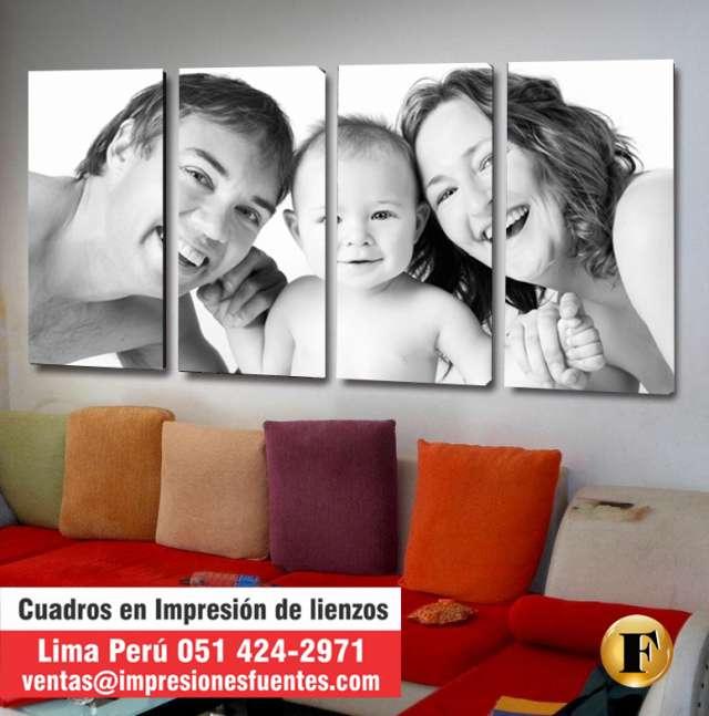 Cuadros De Lienzo Personalizados - Ideas De Disenos - Ciboney.net