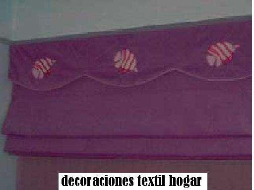 Lindos estores para decorar tu hogar y los cuartos de los niños.