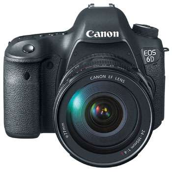 Nuevo canon eos 6d 20.2mp + ef 24-105mm f/4l is usm