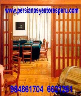 Puertas plegables pvc cuya función de separar ambientes