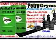 VENTA DE ASFALTO LIQUIDO MC-30 / BREA LIQUIDA PARA IMPERMEABILIZAR