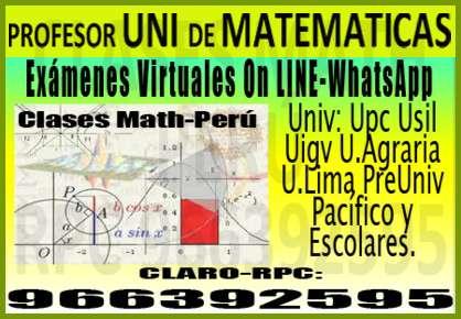 Profesor uni de matemáticas 2014 a universitarios cel: 966392595 upc uap u.piura ucv usil esan