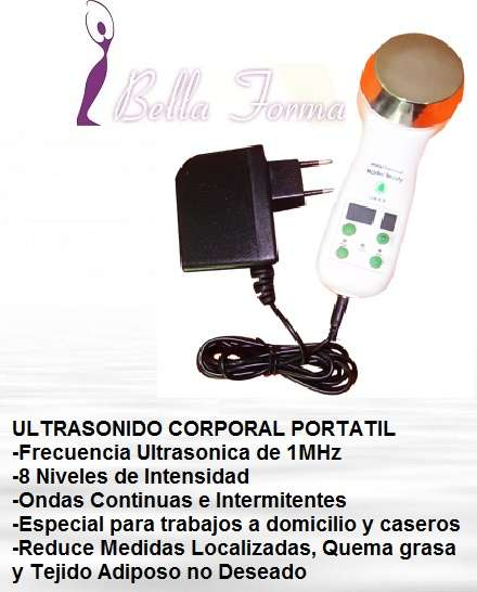 Venta de ultrasonido corporal portatil 1mhz profesional