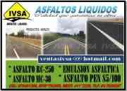Reventa de asfalto liquido por mayor menor llame …