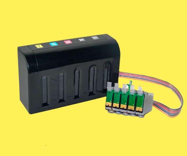 Sistema continuo ejecutivo con tinta de sublimacion ? 4 colores