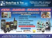 Servicios técnico para equipos de topografias