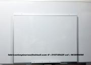 Pizarras acrílicas 80 x 120 cm blancas de 160 x 8…