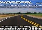Venta de asfalto  para las obras de asfaltado de …