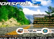 Emulsión asfáltica lenta-rápida rpm *626455