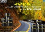 Venta de Brea liquida, alquitran, asfalto pen 60/70.