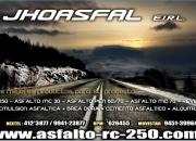 Trabajo de asfaltado para cierre de minas-jhoasfal