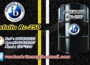 Venta de asfalto mc-30, brea liquida, emulsion cationica.