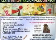 CLASES ILUSTRACION  PARA CUENTOS