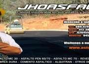 Venta de asfalto rc-250 incluido igv-puesto en ob…