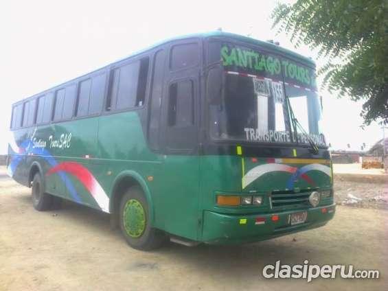 Vendo omnibus mercedes benz 1318 en buen estado.