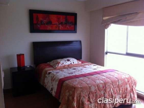Tengo a la venta alquilo departamento de 2 habitaciones av. la mar excelente estado.