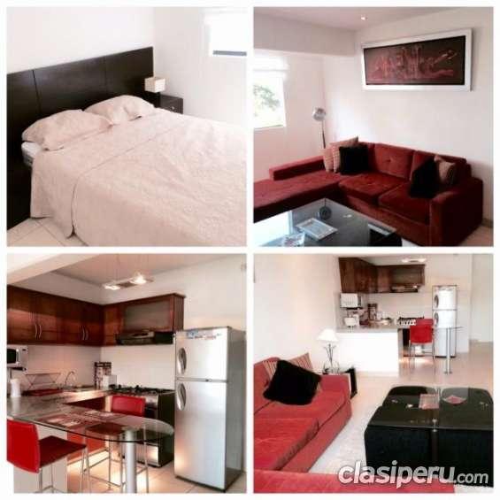 Vendo casi nuevo apartamentos temporales en miraflores , lima peri excelente estado.