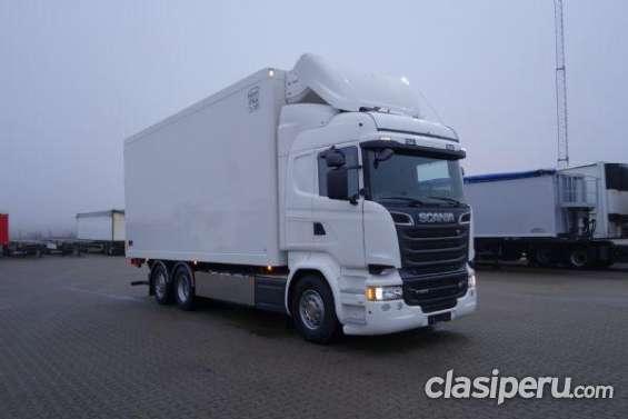Vendo camion furgon scania 00kms con financiamiento bancario ya!!!!!!!!!!!