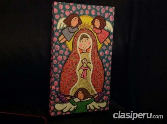 Vendo cuadro de la virgen de guadalupe para niñas urgente.