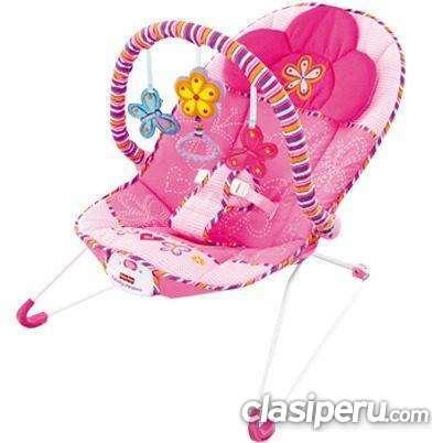 Tengo que vender silla vibradora y musical fisher price rosa completamente nuevo consultame sin cargo.