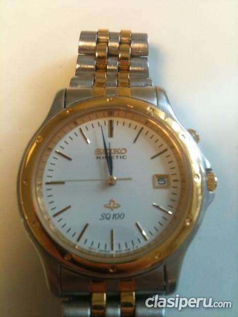 Alquilo reloj seiko kinetic original el precio mas bajo