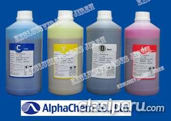 Tinta ecosolvente alphachem - epson dx4, dx5, dx7 - 3.5pl