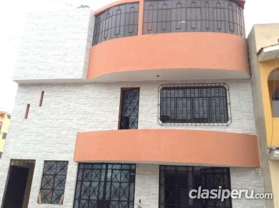Remato linda casa de 3 pisos en santo domingo de carabayllo