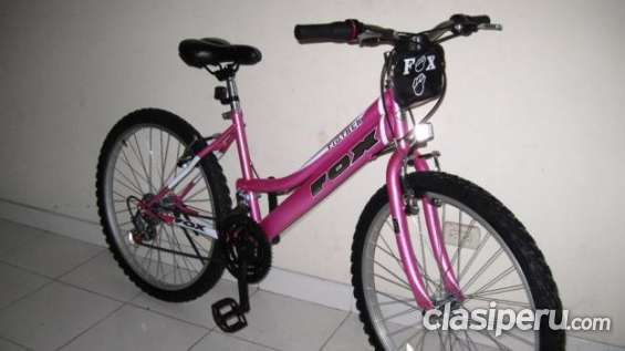 Muy poco uso bicicleta de dama fox está impecable es una oferta