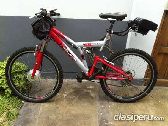 Tengo a la venta bicicleta eléctrica goliat remato!!! la mejor calidad!