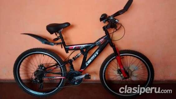 Excelente precio bicicleta montañera de aluminio oferta especial.