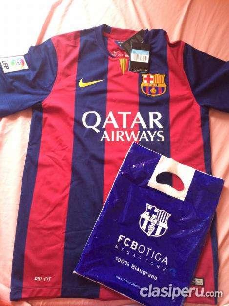 Vendo casi nuevo camiseta original del fcbarcelona temporada 2014/15 funciona perfectamente!!!